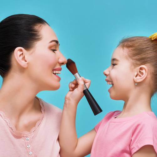 Maquillage comme maman