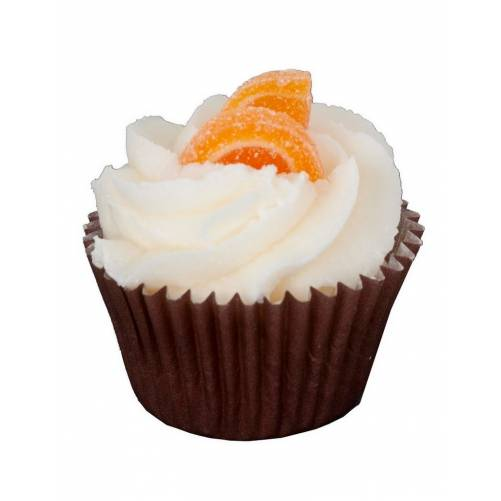 mini cupcake orange cannelle